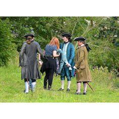Filming OutlanderS2