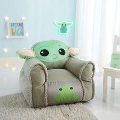 Room Ideas Bedroom, Room Decor, Child's Room, Peluche Star Wars, Toddler Bean Bag Chair, Yoda Images, Yoda Meme, Cuadros Star Wars, Disney Bedrooms