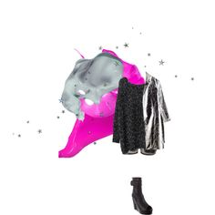 Glitter and Metallic equals disco by ashbar on Polyvore featuring Bitching & Junkfood and Shakuhachi