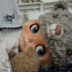 TSUGUMI * Custom Blythe * with bear  Buy her here:   #blythe #blythedolls #kawaii #cute #rinkya #japan #collectibles #neoblythe #customblythe