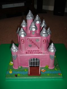 castle cake. I am going to try to recreate this for her