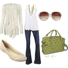 Cute and simple, created by styleofe on Polyvore