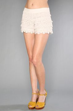 Free People - Lovely Crochet Short (20% off with rep code BIATCH - everything on karmaloop!)