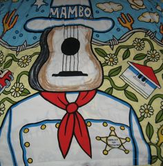 "Mambo Shirt Art ""Sheriff of Nothing"" Surf Design, Blue Hawaii, Art Google, Creative Director, My Eyes, Disney Characters, Fictional Characters, Sheriff, Arts And Crafts"