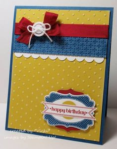 Four Frames Birthday by basement stamper - Cards and Paper Crafts at Splitcoaststampers
