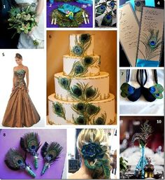 peacock wedding decorations - Bing Images