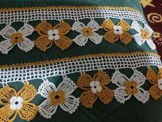 Crochet Borders, Crochet Lace, Crochet Patterns, Sewing Art, Hand Sewing, Viking Tattoo Design, Sunflower Tattoo Design, All Craft, Homemade Beauty Products