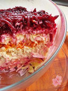 Fruit Recipes, Vegetable Recipes, Cooking Recipes, Cooking Ham, Appetizer Salads, Appetizer Recipes, Cooking Tuna Steaks, Dieta Paleo, How To Cook Ham