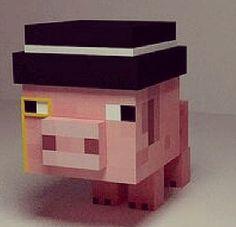 50 Best Minecraft Pig Images Minecraft Stuff How To Play