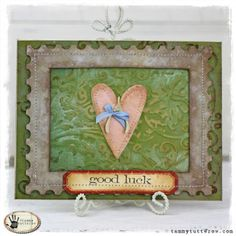 Tammy Tutterow: Tutorials for stamping, die cutting, papercrafts, tags, and cardmaking. — Tammy Tutterow: Tutorials for stamping, die cutting, papercrafts, tags, and cardmaking. What I make with my hands I give with my heart.