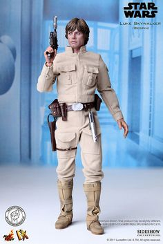 Hot Toys - Star Wars - Luke Skywalker (Bespin Outfit) DX 1/6 Scale MMS Figure by Premium-Format, via Flickr