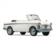 1961 Autobianchi Bianchina Special Cabriolet – Estimate $35,000 – $45,000. Introduced at the 1960 Geneva Motor Show, the Special Convertible version of the popular Bianchina proved to be one of the more fashionable small cars of its day. Fitted with the Fiat 500 Sport motor, this beautiful white Bianchina boasts a top speed of 65 miles per hour, and is arguably the most charming of all Autobianchis.