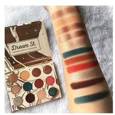 Kathleen Lights X Colourpop Dream St, loving this palette! Makeup Swatches, Makeup Dupes, Makeup Brands, Makeup Geek, Skin Makeup, Best Makeup Products, Makeup Brushes, Makeup Remover, Beauty Products