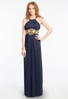 Open Midriff Cleo Neck Dress from Camille La Vie http://www.camillelavie.com/dress/open-midriff-cleo-neck-dress_25080-xs5370