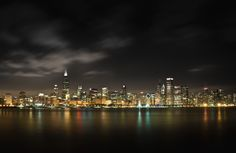Chicago skyline by Bogdan Vasilic
