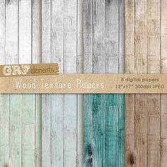 Wood Texture Digital Papers - Wood texture background - DPT37009 on Etsy, $3.99