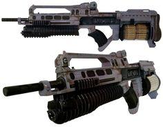 Helghast Rifle, Killzone game