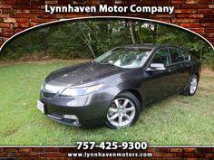 Used 2012 Acura TL for Sale in Virginia Beach VA 23454 Lynnhaven Motor Company