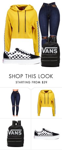 """""""Untitled #57"""" by allisonjohnson408 on Polyvore featuring WithChic, TWINTIP and Vans"""