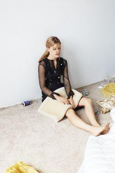 W Magazine Coréia Setembro 2014 | Georgia May Jagger por Maciek Kobielski [Editorial]