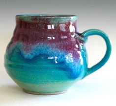 Extra Large Coffee Mug, 28 oz, handmade ceramic cup, ceramic stoneware mug…