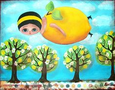 LEMON FAIRY  by Lana Coffill