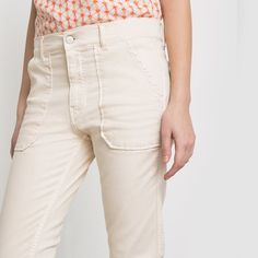 Pantalon NEW CLAUDIE, coupe boyfriend CIMARRON