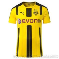 Borussia Dortmund 2016-17 Home Kit