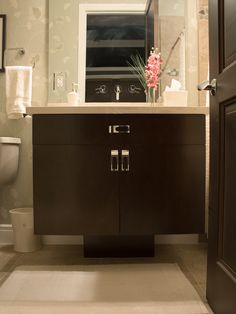 1000 images about cherry bathrooms on pinterest cherries bath cabinets and classic interior for Cherry wood bathroom furniture