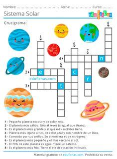 Sistema Solar para Niños. Material GRATIS para Aprender los Planetas.