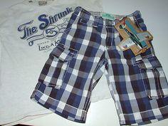 Scotch& Soda Shrunk Shorts Karo Marine Blau Ecru - Verkäufer: clabu24