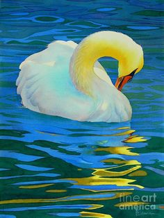 Morning Bath Painting by Robert Hooper - Morning Bath Fine Art Prints and Posters for Sale
