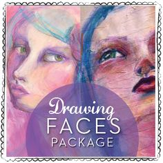 Beautiful Faces and Express Yourself Online Workshops - Jane Davenport
