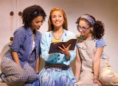 Lisa, Sophie and Ali of MAMMA MIA! Broadway