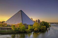 Saw the last concert held at the Memphis Pyramid - Bob Seger.