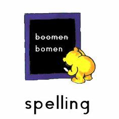 Oefenwerkbladen spelling voor groep 3 t/m 8