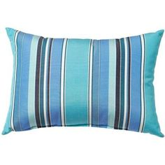 Home Decorators Collection Sunbrella Dolce Oasis Standard Outdoor Lumbar  Pillow