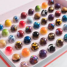 If life is like a box of chocolates, choose what you're gonna get! 👌 Photo by Chocolate Work, Chocolate Delight, Easter Chocolate, Chocolate Factory, Chocolate Treats, Chocolate Molds, Chocolate Truffles, Chocolate Lovers, Dessert Platter