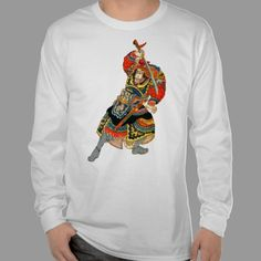 Japanese Samurai Shogun Warrior T Shirts - Fantasy and Martial Arts Illustrations.
