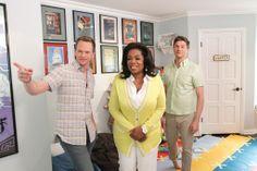 Neil Patrick Harris Shows Oprah around the Nursery Celebrity Nurseries, David Burtka, Neil Patrick Harris, Oprah, Equality, Marriage, Take That, Nursery, Celebrities