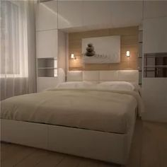 спальня со шкафами по бокам кровати: 13 тыс изображений найдено в Яндекс.Картинках Wardrobe Design Bedroom, Bedroom Furniture Design, Modern Bedroom Design, Home Room Design, Small Bedroom Interior, Small Room Bedroom, Home Decor Bedroom, Sofa Bed Design, Luxurious Bedrooms