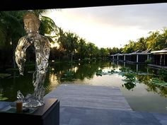 The spa at sunset Hoi An, Luxury Spa, Four Seasons, Vietnam, Sunset, Outdoor Decor, Travel, Home Decor, Viajes