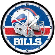 Buffalo Bills Round Wall Clock