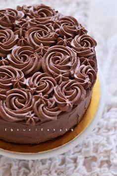 Rose Cake, Cake Cookies, Chocolate Cake, Tart, Cake Decorating, Muffin, Sweets, Baking, Recipes