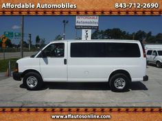 Used 2012 Chevrolet Express LS 2500 Passenger Van for Sale in Myrtle Beach SC…