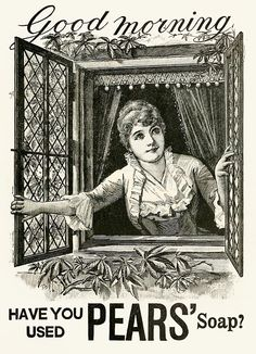 Pears' Soap (1890) Vintage Ad