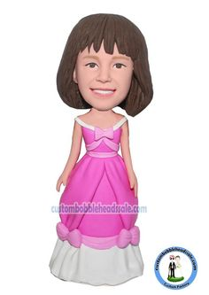 Custom Bobblehead Snow White Dress Doll From Photo Find unique Christmas presents and gift ideas for men, women and kids at Custom Bobbleheads.
