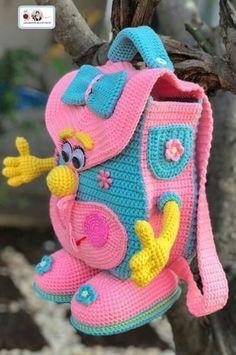 I Found These Elegant Crochet Bags . I Crochetbag - Crochet Tutorial - Best Knitting Crochet Amigurumi, Crochet Beanie, Crochet Dolls, Knit Crochet, Amigurumi Tutorial, Tutorial Crochet, Crochet Beach Bags, Crochet Gifts, Crochet For Kids