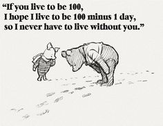 From the time Dave visited me in va last Easter until I moved to ga I would text or have a note for him to open every morning. Just a simple quote or line about love. This was one of our favorites.