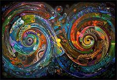 """Sam Brown's """"Spiral Matrix"""""""